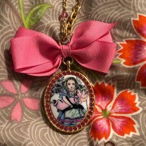 Tarina Tarantino Alice in wonderland necklace